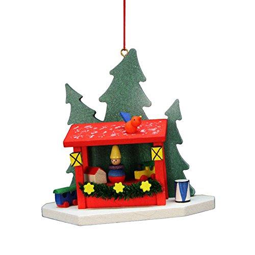 "10-0580 – Christian Ulbricht Ornament – X-mas Market – 3.5″""H x 3.5″""W x 1.5″""D –"