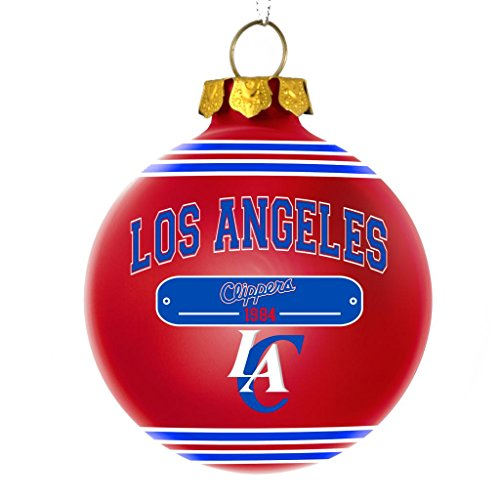 Los Angeles Clippers Official NBA 2014 Year Plaque Ball Ornament by Forever Collectibles