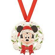 Disney's Pierced Mickey Ornament by Lenox