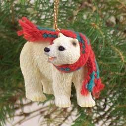 Conversation Concepts Bear Polar Original Ornament (Set of 6)