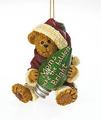 Boyds Resin Mom's Make the Holiday Ornament, 2.625-Inch