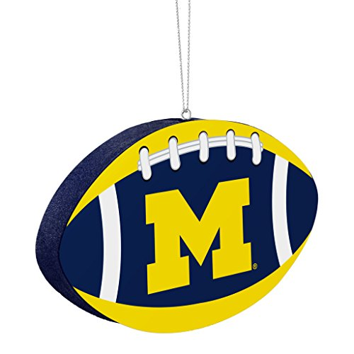 Michigan Wolverines Official NCAA 4 inch Foam Christmas Ball Ornament by Forever Collectibles 240773