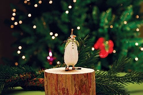 Patience Brewster Mini Thaddeus Penguin Ornament