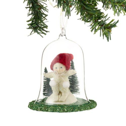 Snowbabies Bunny Hill Ornament, 4-Inch