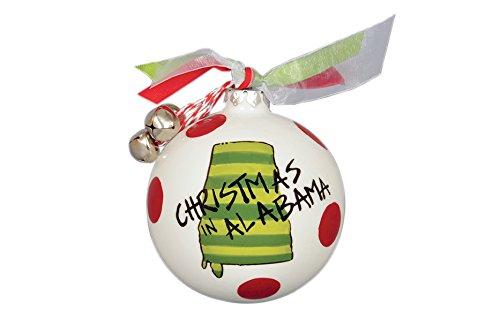 Christmas In Alabama Hanging Christmas Tree Ornament