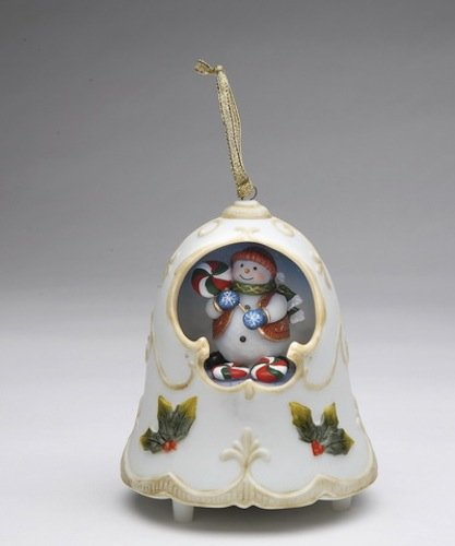 Christmas Bell Musical Ornament – Snowman – Frosty the Snowman