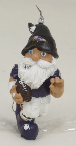 Baltimore Ravens 4″ Action Gnome Ornament