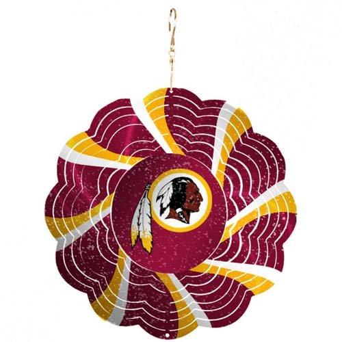 Washington Redskins Geo Spinner Christmas Ornament