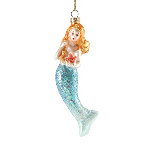 Department 56 Gone to The Beach Mercury Mermaid Ornament