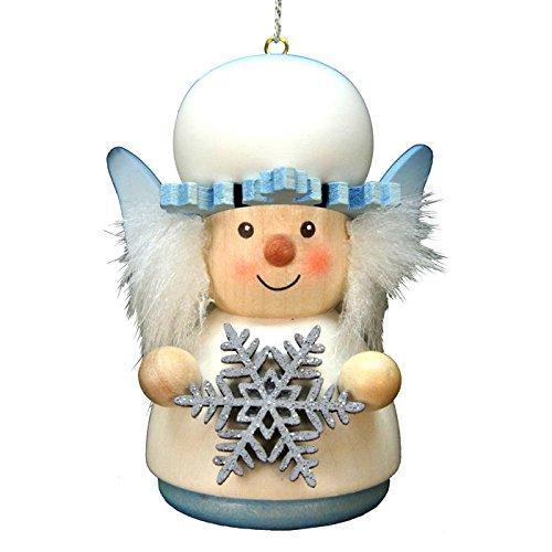 "15-0415 – Christian Ulbricht Ornament – Snowflake – 3″""H x 2″""W x 2.25″""D"