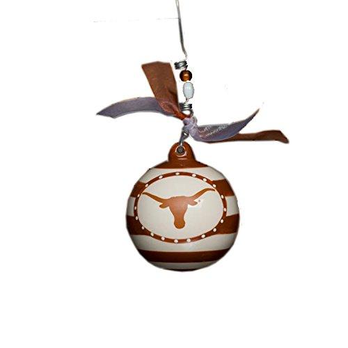 Glory Haus Texas Stripe Ornament, 4-Inch