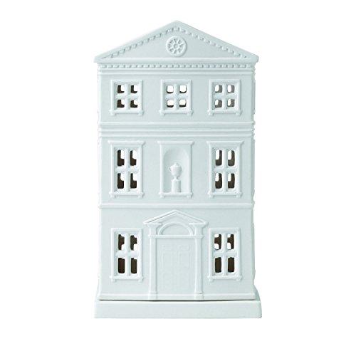 Wedgwood Tealight Holder House Christmas Ornament, White