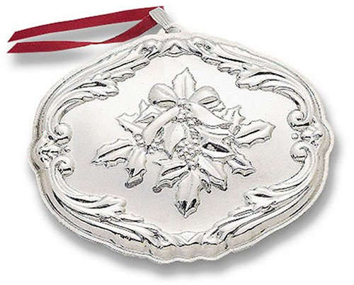 Reed & Barton Francis First Songs of Christmas Sterling Silver Ornament – Deck the Halls