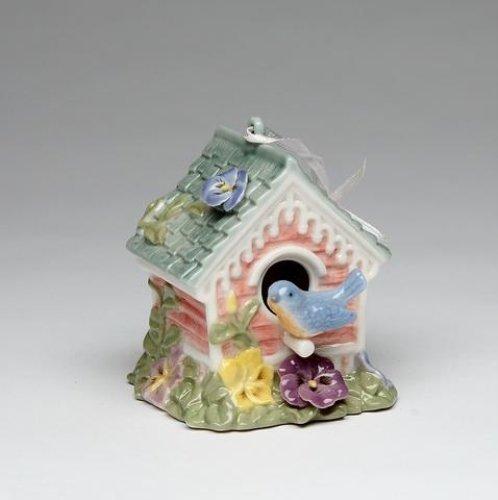 Cosmos 80082 Fine Porcelain Songbird Ornament Musical Figurine, 2-5/8-Inch