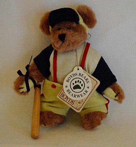 BOYDS BEARS BRADY SWINGENAMISS BASEBALL BEAR ORNAMENT #56301