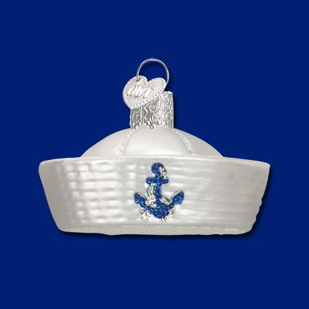 Old World Christmas Sailor Hat Ornament