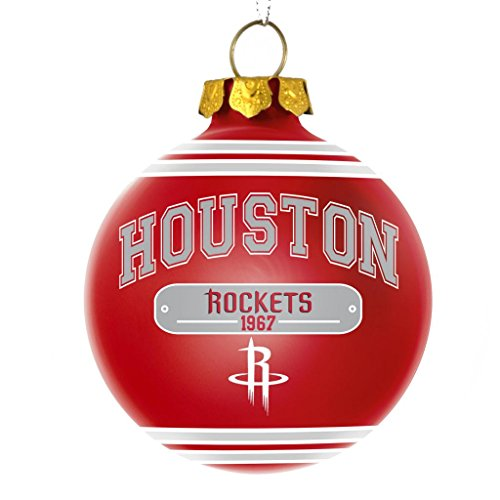 Houston Rockets Official NBA 2014 Year Plaque Ball Ornament by Forever Collectibles