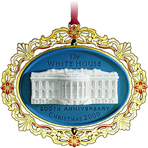 The White House 200th Anniversary (1800-2000) Ornament