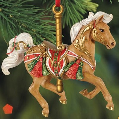 BREYER ★ WINTER WINDS CAROUSEL ORNAMENT ★ 2015 HOLIDAY HORSE ★ LIMITED EDITION