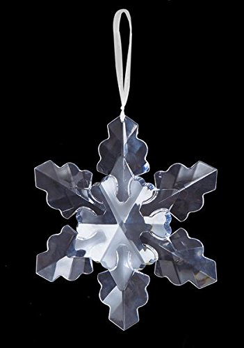 Ganz Giant Snowflake Ornament, 10″ (ORN-SNW-4)