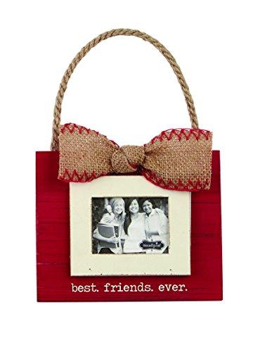 Mud Pie 4695242 Best Friends Ever Ornament Fra