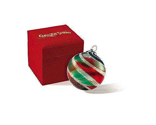 Glass Eye Studio Limited Edition Ornament Holly Wreath