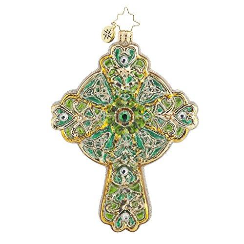 Christopher Radko Emerald Rood Christmas Ornament