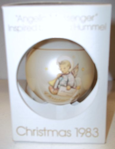 "Schmid Hummel ""Angel Messenger"" Christmas Ball 1983"