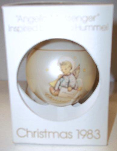 """Schmid Hummel """"Angel Messenger"""" Christmas Ball 1983"""