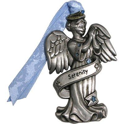 Gloria Duchin Pewter Serenity Angel Ornament