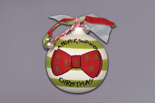 """A Proper Southern Christmas"" Ornament"