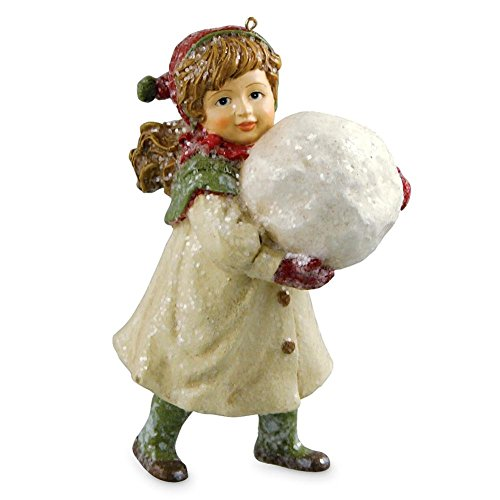 Bethany Lowe Snowball Fight Ornament