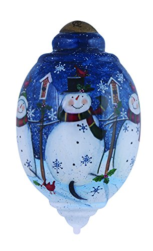 Ne'Qwa Winter is Best Shared with Friends Ornament