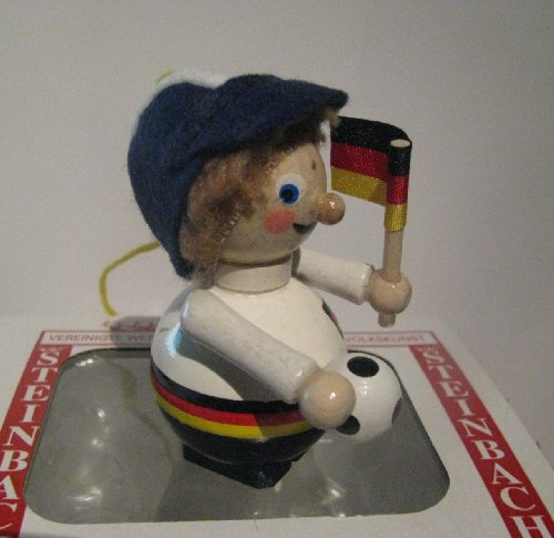 Steinbach German Soccer Player Wood Ornament