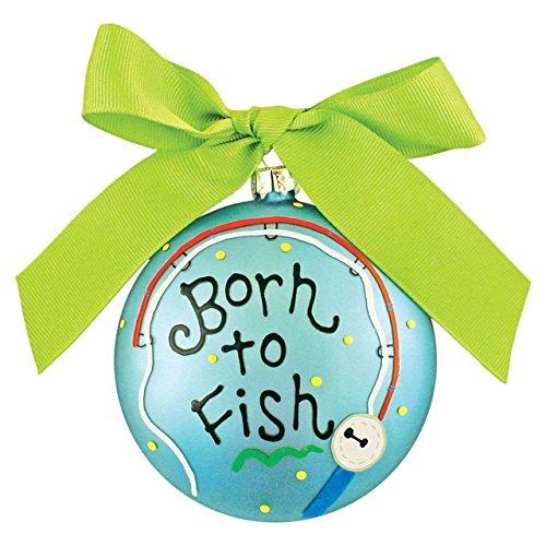 Born To Fish Ornament