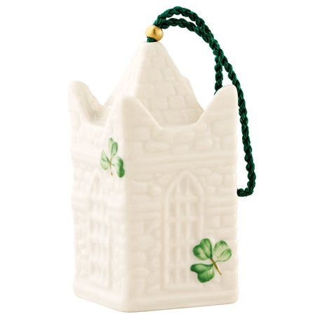 Belleek St. Patrick's Cathederal Bell Christmas Ornament