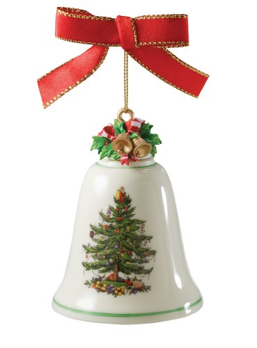 Spode Christmas Tree 2006 Annual Bell Ornament