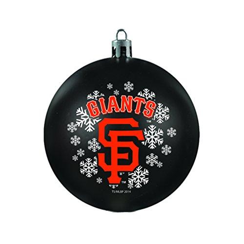 MLB San Francisco Giants Shatterproof Ball Ornament, 3.125″, Black