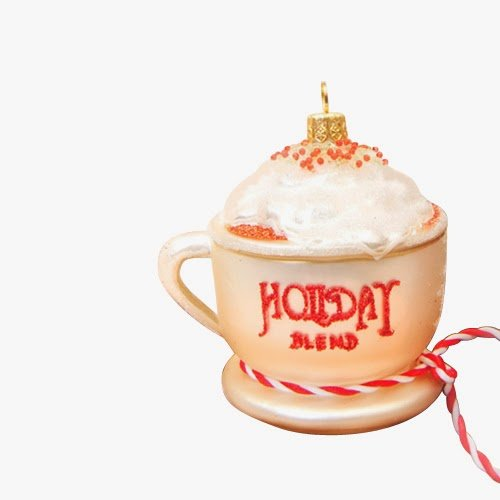 Ornaments to Remember: CHRISTMAS LATTE Christmas Ornament (Holiday Blend)
