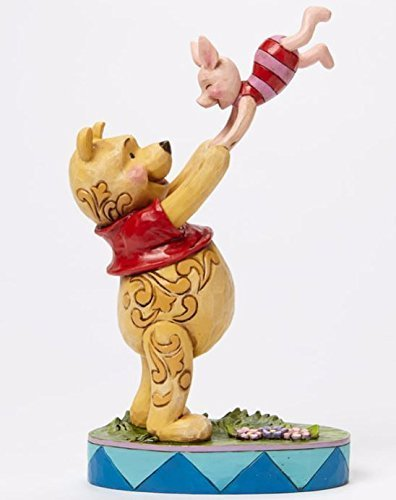 Enesco Disney Traditions Winnie the Pooh and Piglet by Jim Shore by Enesco