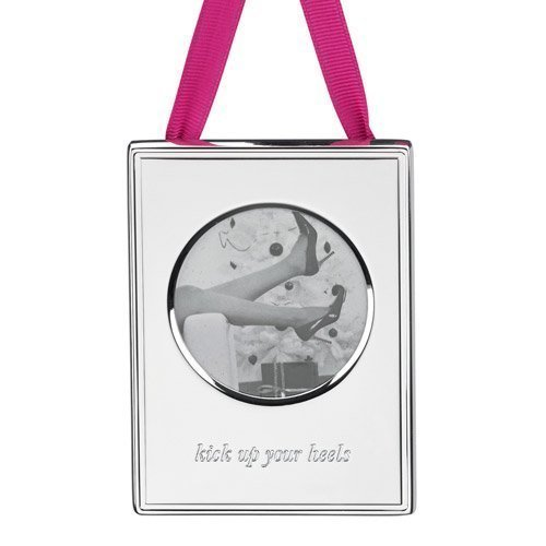 Kate Spade New York Kick up Your Heels Frame Ornament by Lenox