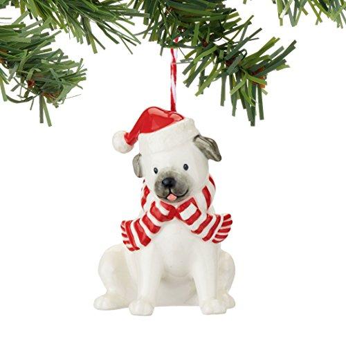 Department 56 Fetch The Spirit Pug Ornament