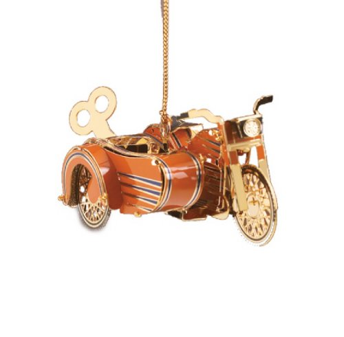 Baldwin Motorcycle with Side Car Ornament