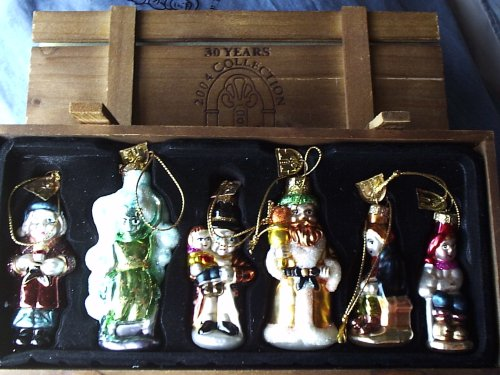 Thomas Pacconi Classics A Christmas Carol Ornament Set Of Six