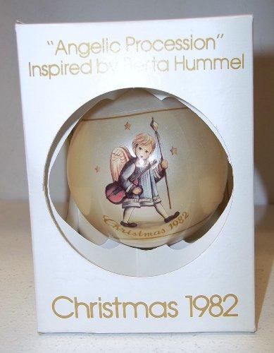 "Schmid Hummel ""Angelic Procession"" Christmas Ball 1982"
