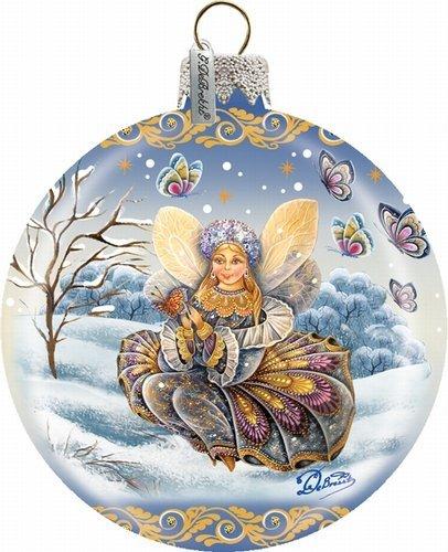 Fairy-Girl Ball Ornament