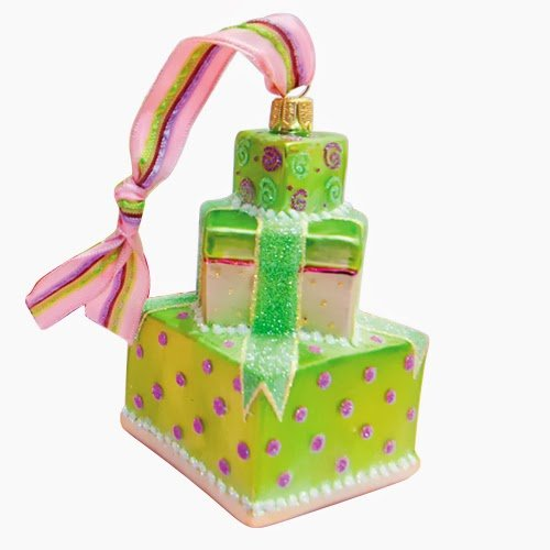 Ornaments to Remember: CAKE Christmas Ornament (Ribbon)