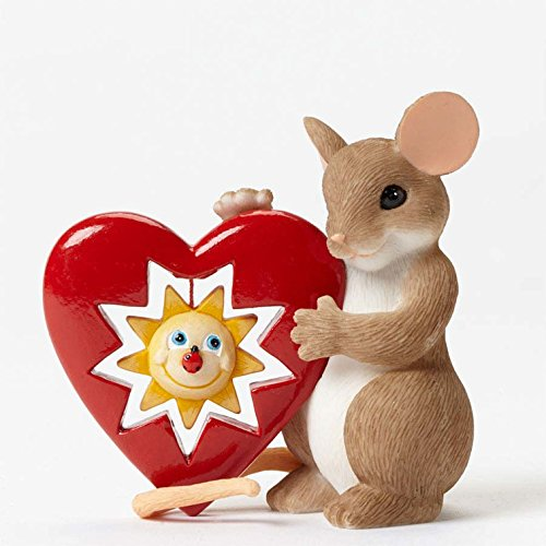 Charming Tails 4042752 Your Sunny Smile Warms My Heart Figurine New 2015