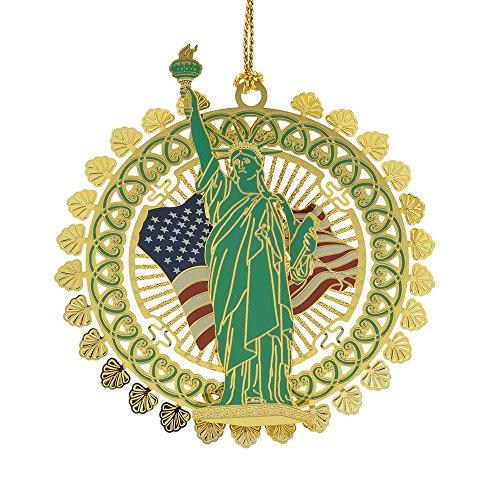 ChemArt / Baldwin Official 2015 Statue Of Liberty Ornament
