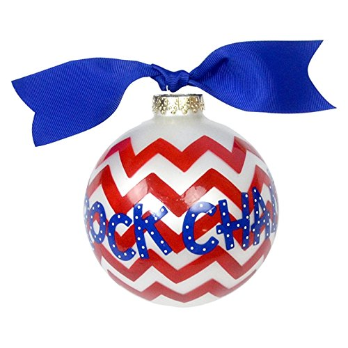 KU Chevron Ornament